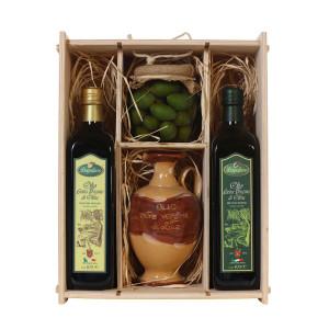 confezione-olio-extravergine-fruttato-delicato-intenso-logoluso-sottolio-olive